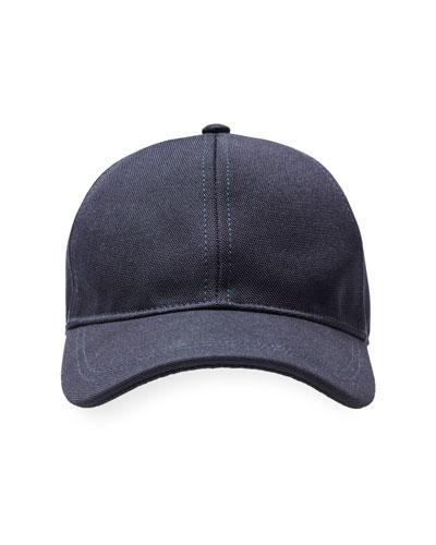 Bergdorf Baseball Cap, Navy