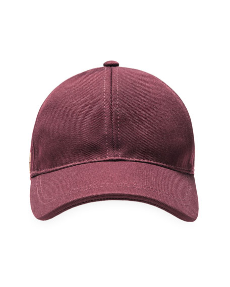 Bergdorf Baseball Cap, Burgundy