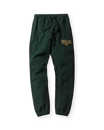 Williams Drawstring Sweatpants, Forest