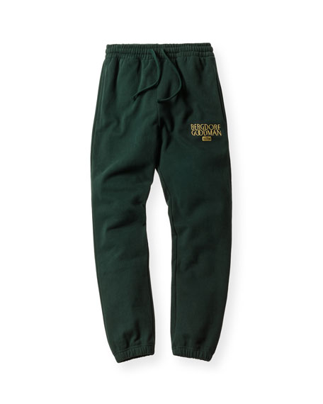 Williams Drawstring Sweatpants, Forest