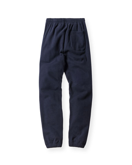 Williams Drawstring Sweatpants, Navy