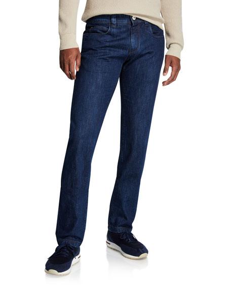 Loro Piana Straight-Leg Denim Jeans