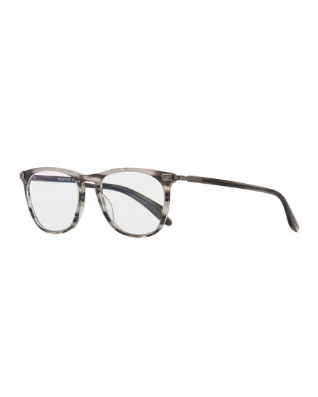 Men's Lautner Striped Acetate  Reading Glasses-1.5
