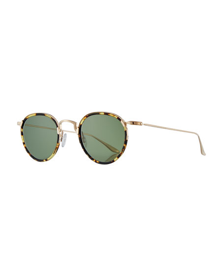 5789e7ed76 Barton Perreira Men S Aalto Matte Metal Sunglasses In Multi