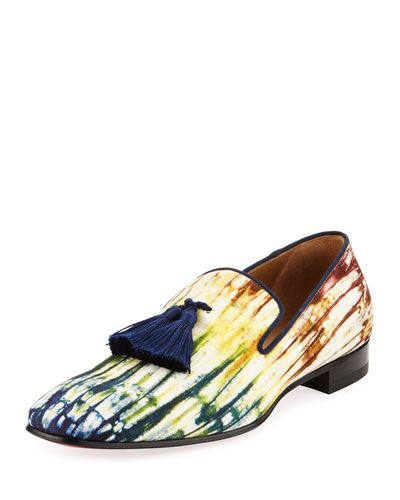 Officialito Canvas Tassel Loafer