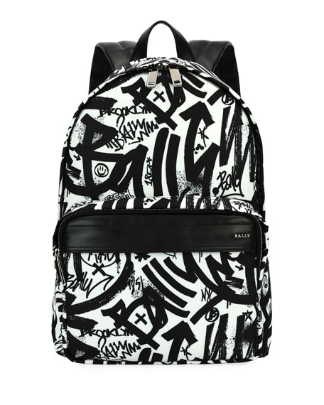 Wolfson Graffiti Nylon Backpack
