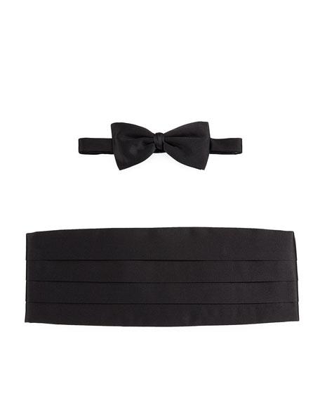 fa0bf149 Silk Cummerbund & Bow Tie Set