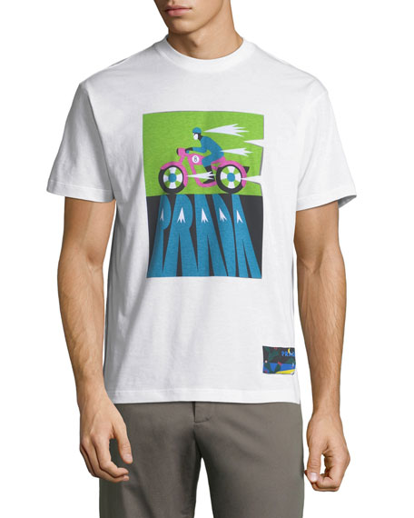 Motobike Logo Graphic T-Shirt