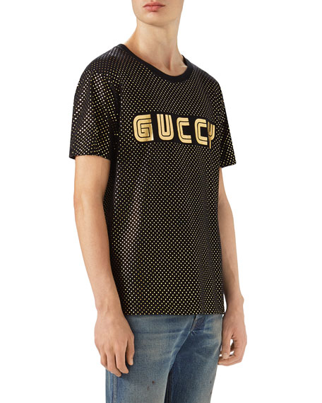Guccy Block Logo T-Shirt