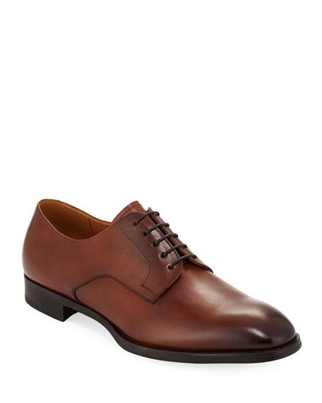 Men's York Smooth Leather Derby Oxfords