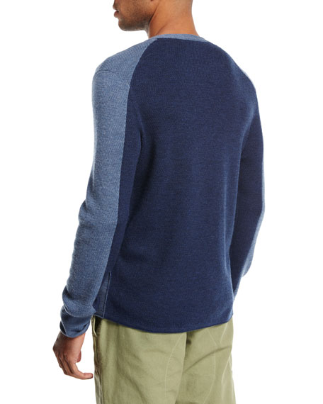 Gregory Waffle-Knit Thermal Henley