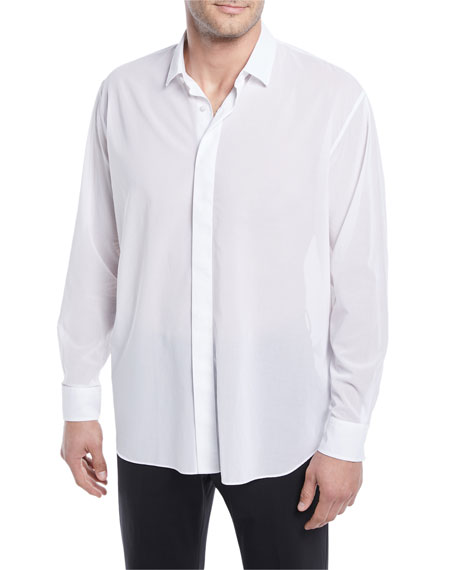 Berluti Lightweight Oversize Cotton Shirt