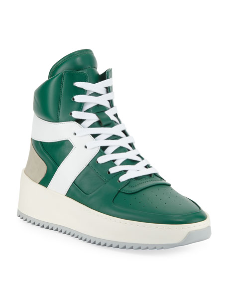 2961f08a9a7 Fear of God Men s Leather High-Top Basketball Sneakers