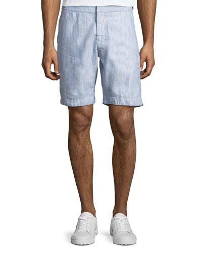 Dane II Striped Twill Shorts