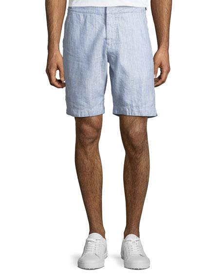 faee18fd10 Orlebar Brown Dane II Striped Twill Shorts