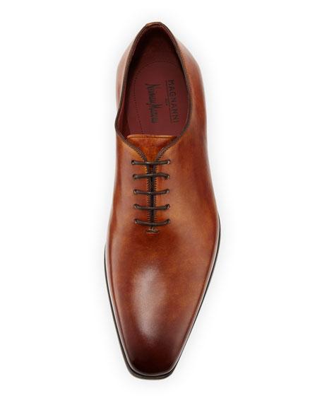 952a4d134e4 Men's One-Piece Leather Lace-Up Dress Shoe