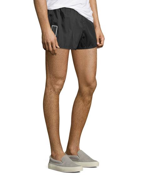 Gabardine Nylon Shorts