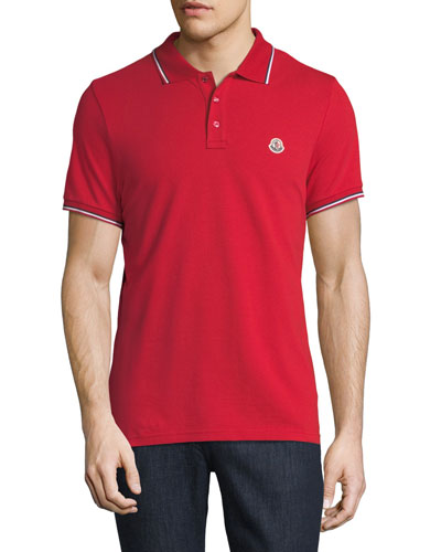 Classic Pique Patch Polo Shirt