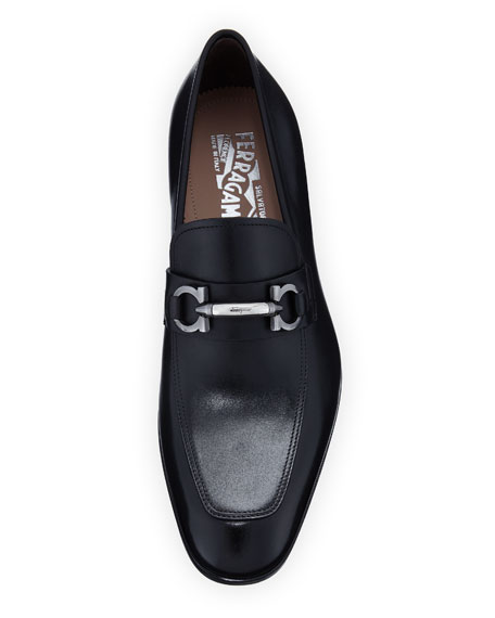 326c142ff7d8 Salvatore Ferragamo Men s Benford Gancini-Bit Leather Loafer
