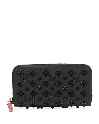 Men's Panettone Embellished Leather Wallet