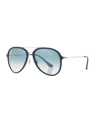 Men's Gradient Propionate Aviator Sunglasses