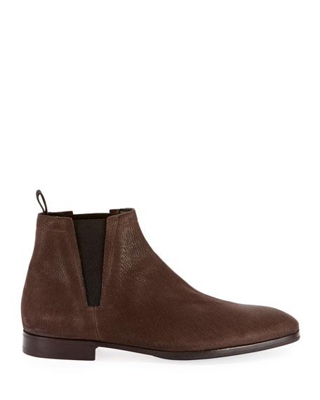 Men's Caractere Eclair Calf Suede Leather Boot