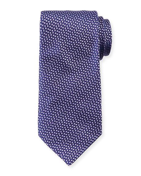 Giorgio Armani Micro Neat Silk Tie