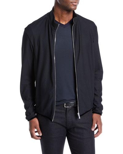 Men's Honeycomb Blouson Jacket