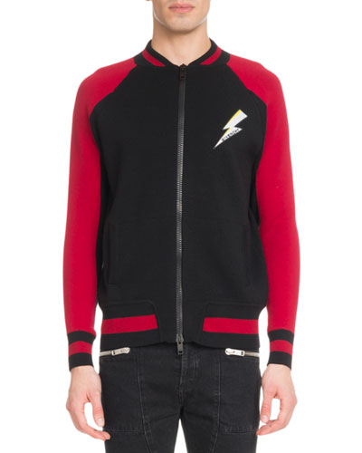 Men's Lightning Zip-Front Jacket