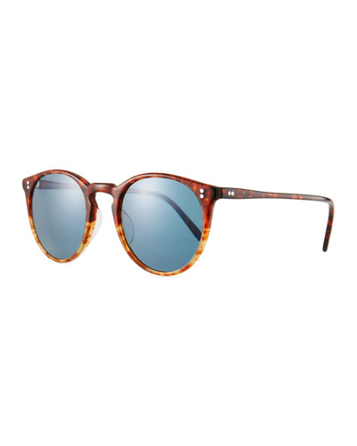 Men's O'Malley Peaked Round Photochromic Sunglasses