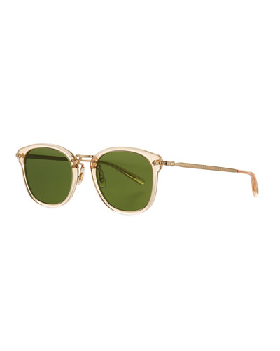 Men's OP-506 Acetate/Metal Sunglasses