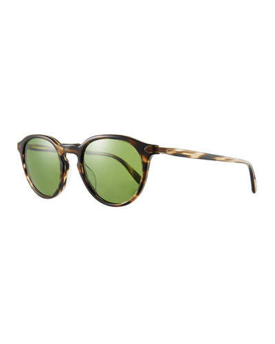 Men's Rue Marbeuf Round Acetate Sunglasses