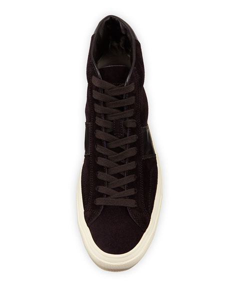 Men's Cambridge Suede High-Top Sneakers