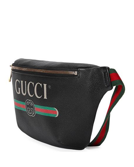 Men's Retro Logo Belt Bag/Fanny Pack