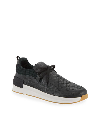 492975c8cf7 Promotion Men s Intrecciato Leather Low-Top Sneakers Quick Look. Bottega  Veneta
