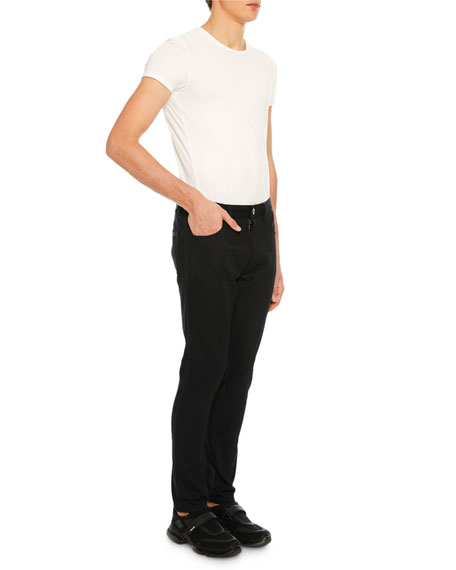 Men's Bi-Stretch Wool-Blend Pants