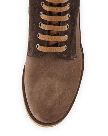 292b4c26 Up Suede Bottega Spritz Boots Veneta Men's Lace wq1RFw