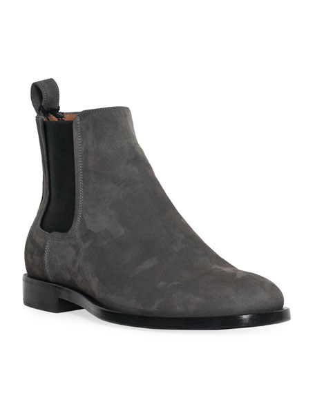 Lanvin Men's Nubuck Chelsea Boot