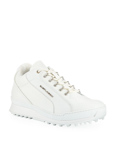 Men's Jump Low-Top Leather Sneaker