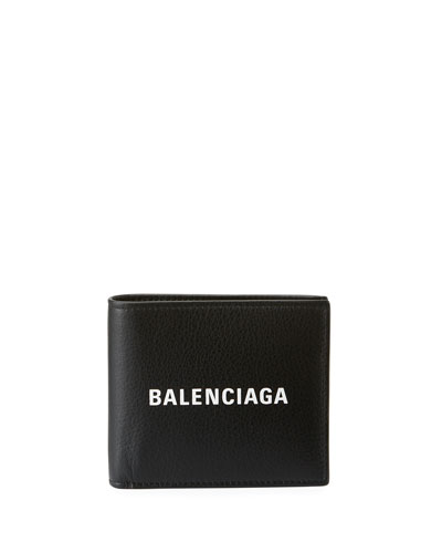 Men's Baltimore Shopping Square Leather Wallet