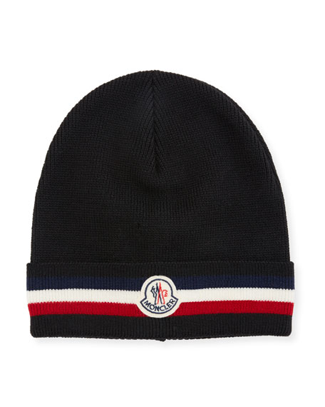 2de707d3414 Moncler Men s Berretto Wool Beanie Hat