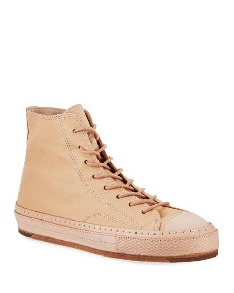 Men's MIP High-Top Leather Sneakers