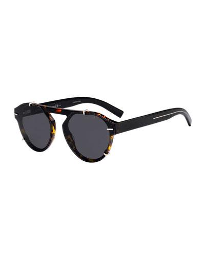 Men's Round Clipped Optyl® Sunglasses