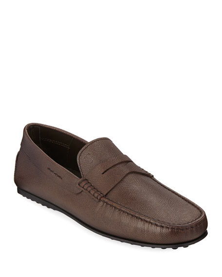 a3ee4e2e78 Tod s Men s City Gommini Leather Penny Loafer