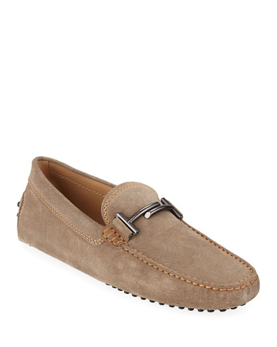 d075eff8144 Promotion Men s Gommini Double-T Suede Driver Quick Look. Tod s