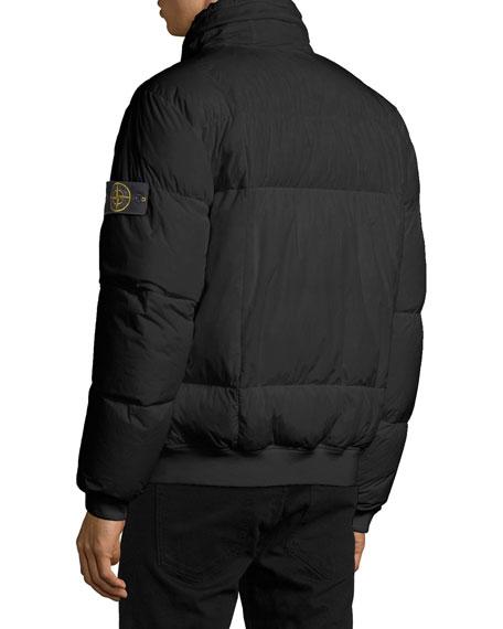 85e69e7b2 Stone Island Men's Down Bomber Puffer Jacket
