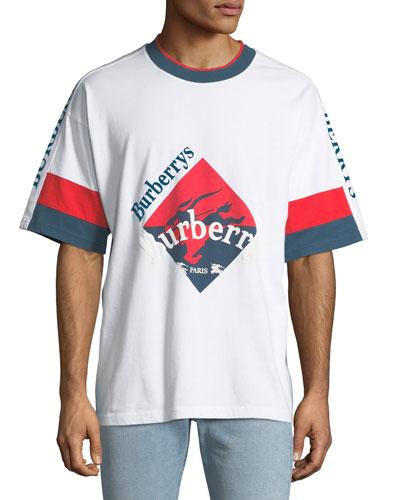 Men's Roeford Burberry's Logo T-Shirt