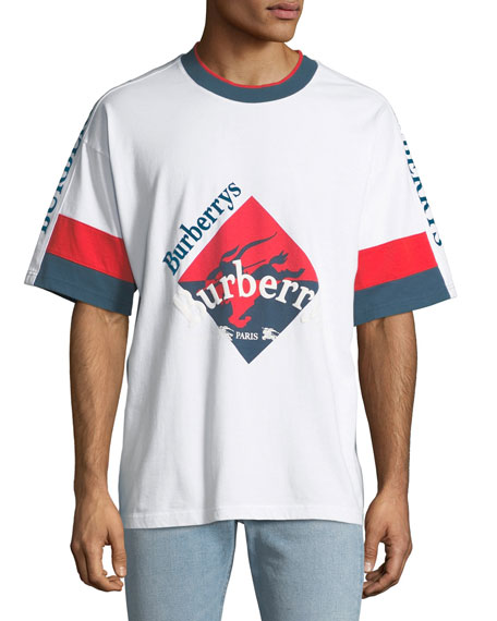 burberry men\u0027s roeford burberry\u0027s logo t shirt  Neue Under Armour Wei Tshirt Herren Online P 524 #16