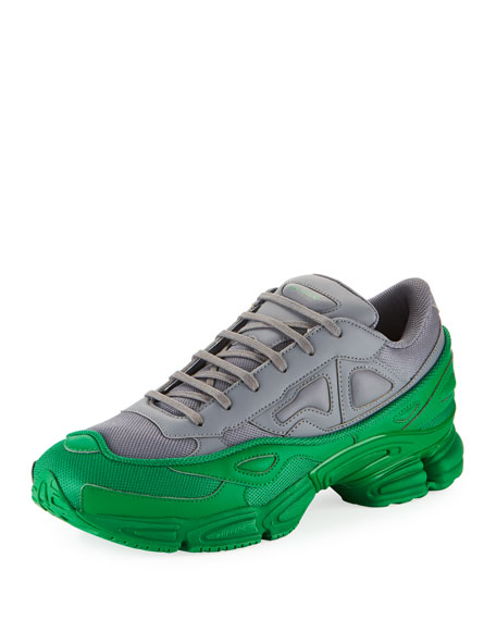 459acde2bd1 adidas by Raf Simons Men s Ozweego Colorblock Trainer Sneakers