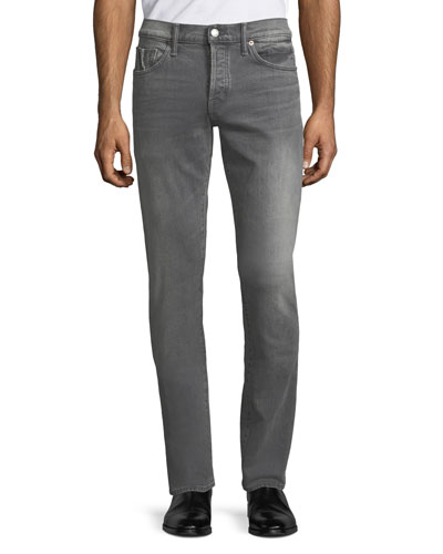 Men's Selvedge Straight-Leg Jeans